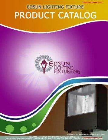 Edsun Lighting Fixture Catalog - The Lighting Company