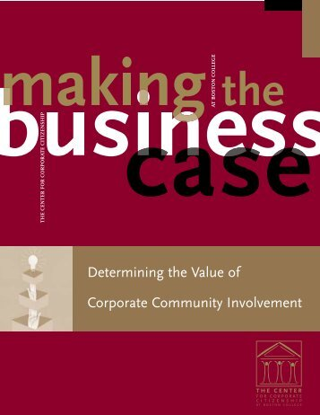 Determining the Value of Corporate Community ... - CommDev
