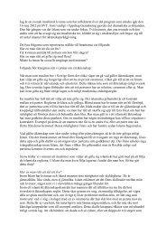Reflektioner kring Uppdrag Granskning - Islamguiden