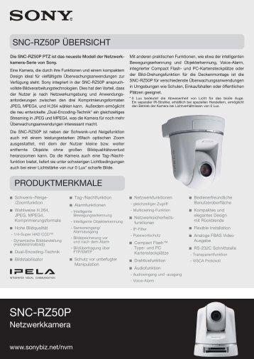 SNC-RZ50P - Repro Schicker AG