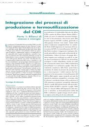 Integrazione dei processi di produzione e ... - La Termotecnica