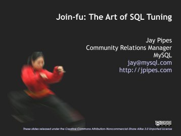 Join-fu: The Art of SQL Tuning (PDF)