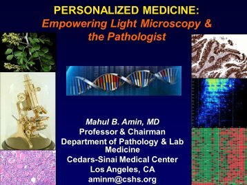 Personalized Medicine - Digital Pathology Association