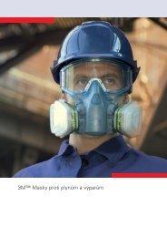 3M™ Masky proti plynům a výparům