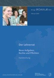 Der Lehrerrat - Nordrhein-Westfalen direkt