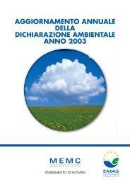 MEMC italiano NOVARA 11/04 - MEMC Electronic Materials, Inc.