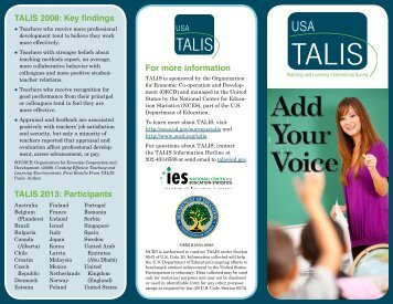 What is TALIS? - Resource Training & Solutions