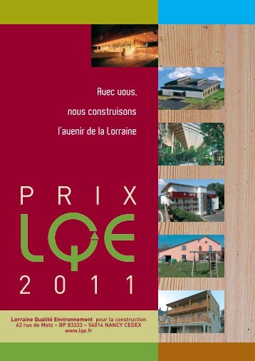 brochure prix lqe 2011