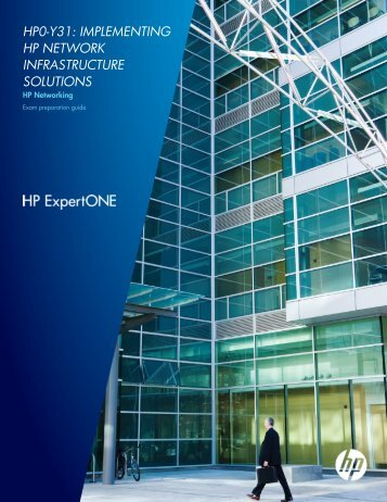 hp0-y31: implementing hp network infrastructure ... - Hewlett Packard