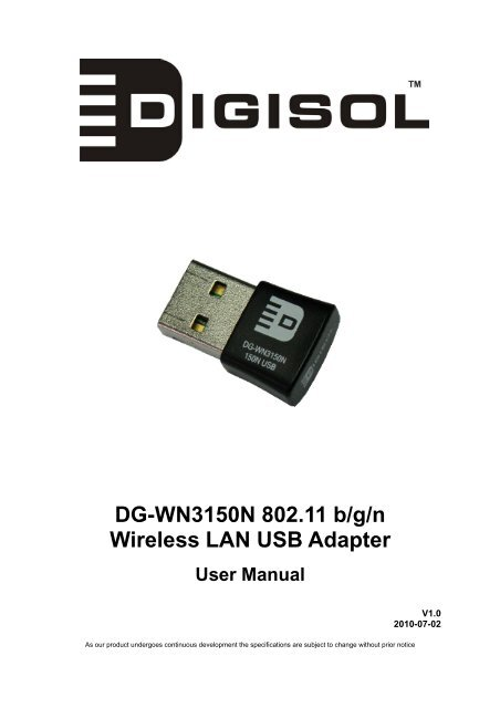 DG-WN3150NU USB DRIVERS FOR WINDOWS DOWNLOAD