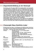 Kirchenmusikalischen Informationen - Bistum Hildesheim - Seite 4