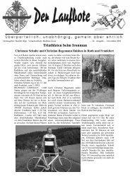 Triathleten beim Ironman - Skiclub Olpe