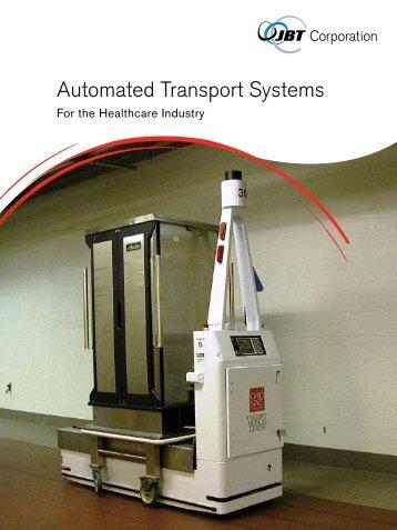 Hospital Brochure - JBT Automated Guide Vehicles