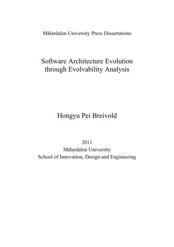 PHD Thesis - Ivica Crnkovic