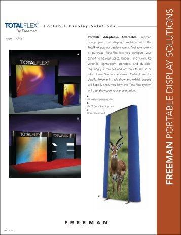 Exhibit Display - Portables