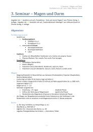 3. Seminar – Magen und Darm - wilmnet.de