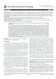 Optimized Atrazine Degradation by Pleurotus ostreatus INCQS ... - INT