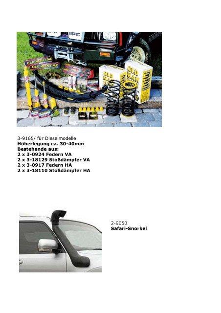 Mitsubishi Pajero V80 Bj. 2007- - SGS
