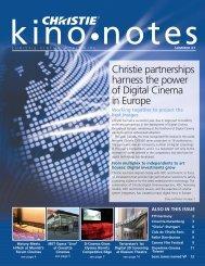 Summer 2007 - Christie Digital Systems