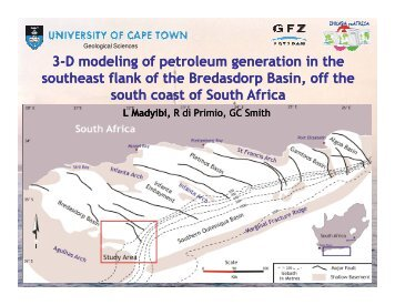 3-D modeling of petroleum generation in the D ... - Inkaba.org