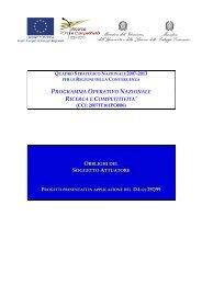 obblighi del soggetto attuatore - Cilea