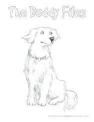The Buddy Files Coloring Sheets - Albert Whitman & Company