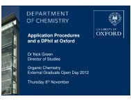 here - Department of Chemistry