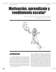 Motivación, aprendizaje y rendimiento escolar - Revista Docencia
