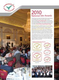 Silver Award winners - The Considerate Constructors Scheme