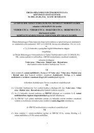 Ö. K. rendelet - ÓBVSZ | Óbuda-Békásmegyer Városrendezési és ...