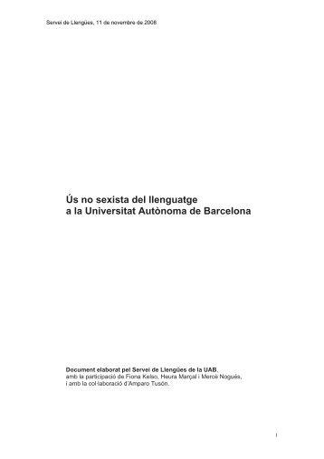 Guia per l'ús no sexista del llenguatge - Ajuntament de Molins de Rei
