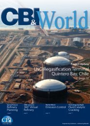 LNG Regasification Terminal Quintero Bay, Chile - CB&I