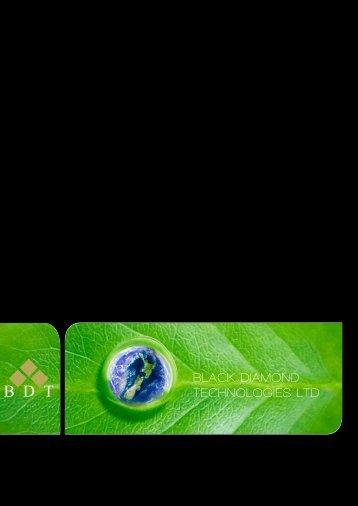 BLACK DIAMOND TECHNOLOGIES LTD