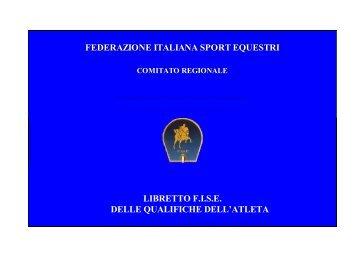 libretto del cavaliere - FISE Toscana