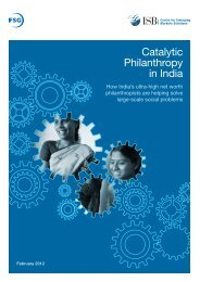Catalytic Philanthropy in India - EVPA