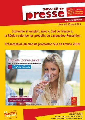 Economie et emploi : Avec « Sud de France », la Région valorise les ...