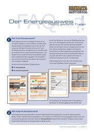FAQ Energieausweis.indd - BRUNATA Hürth
