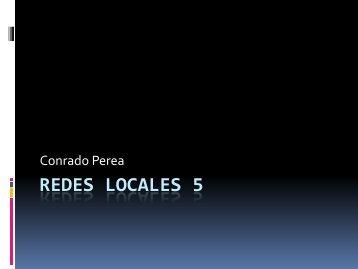 Redes locales 5 - Técnico de Sistemas Microinformáticos