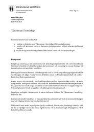 Tjänsteman i beredskap – så fungerar den - Strängnäs kommun