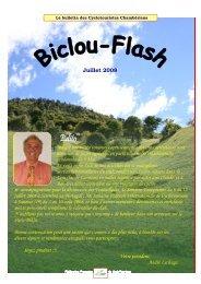 Biclou Flash 2008_juillet.pub - Accueil cyclotouristes Chamberiens