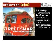 Tom Hickey: Streetcar 202 (PDF, 11 MB) - Reconnecting America