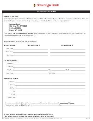 Equiniti Change of address form