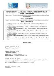 Programma - Azienda USL 5 Pisa