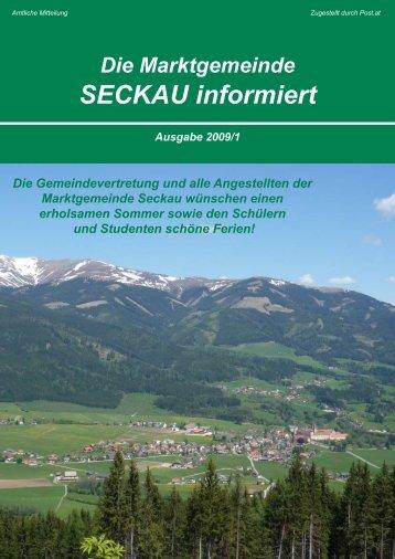 Ausgabe 1 - USV Seckau