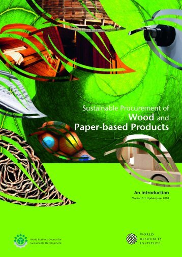 Wood and Paper-based Products - National Business Initiative