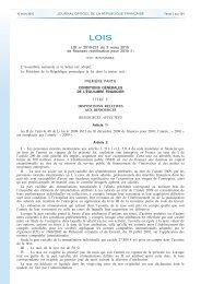 Loi 2010-237 du 9 mars 2010, art. 14, JO du 10