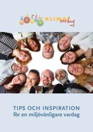 TIPS OCH INSPIRATION för en miljövänligare vardag - Landskrona ...
