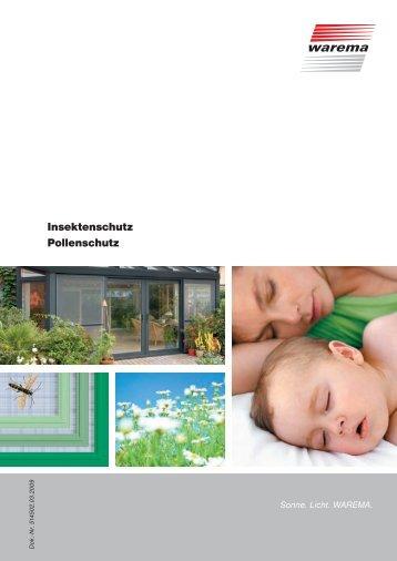 Insektenschutz Pollenschutz