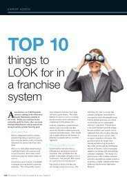 Nathan Hudson, DC Strategy - Business Franchise Magazine