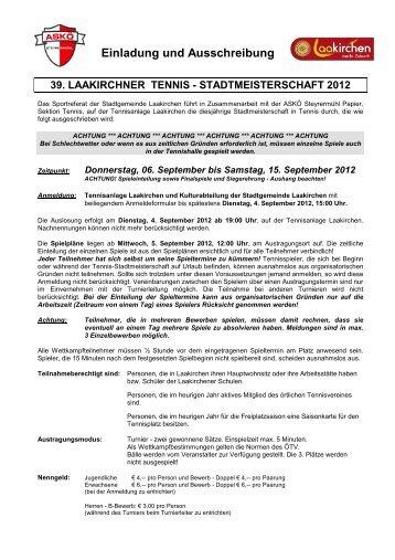 Download Ausschreibung - ASKÖ Steyrermühl Papier